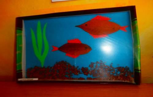 Поделки рыбки в аквариуме